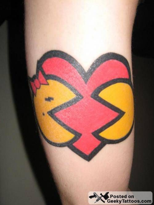 pacman tattoos | Pacman tattoos (5)