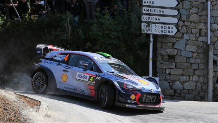 Paddon Hyundai I20 WRC  Tour de Corse 2017
