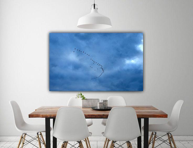 """Drucke auf Leinwand - Leinwand """"Asides"""" 100 x 50 cm - ein Designerstück von Heavensblue-Fotografie bei DaWanda"""