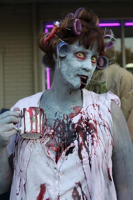 Zombie Walk 2012 by TerribleWendyBird, via Flickr