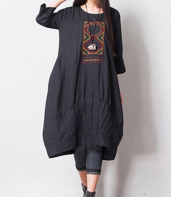 Summer dress/ maxi dress / long dress /linen by chaxuan on Etsy