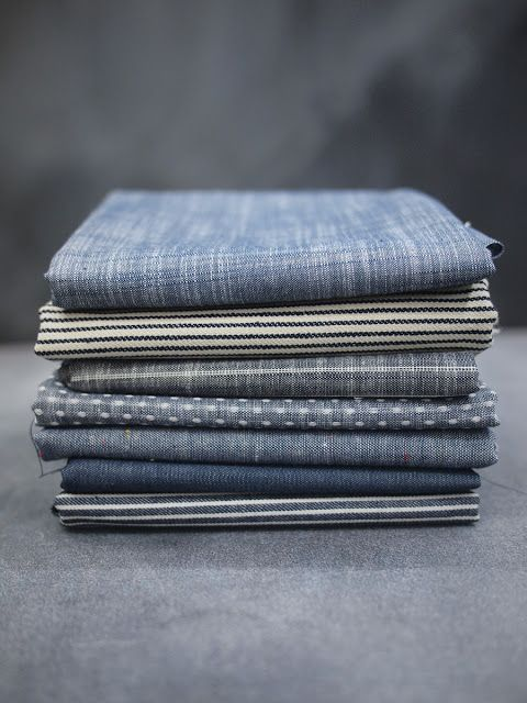 Fancy Tiger Crafts: Railroad Denims & Chambray Union fabrics from Robert Kaufman