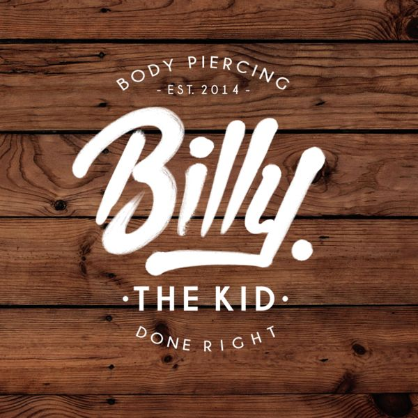 Love the brush font // Billy the Kid on Behance.