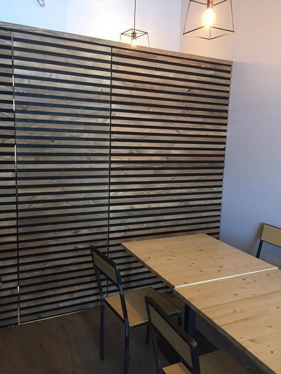 Rivestimento boiserie parete in legno | Pareti rivestite ...