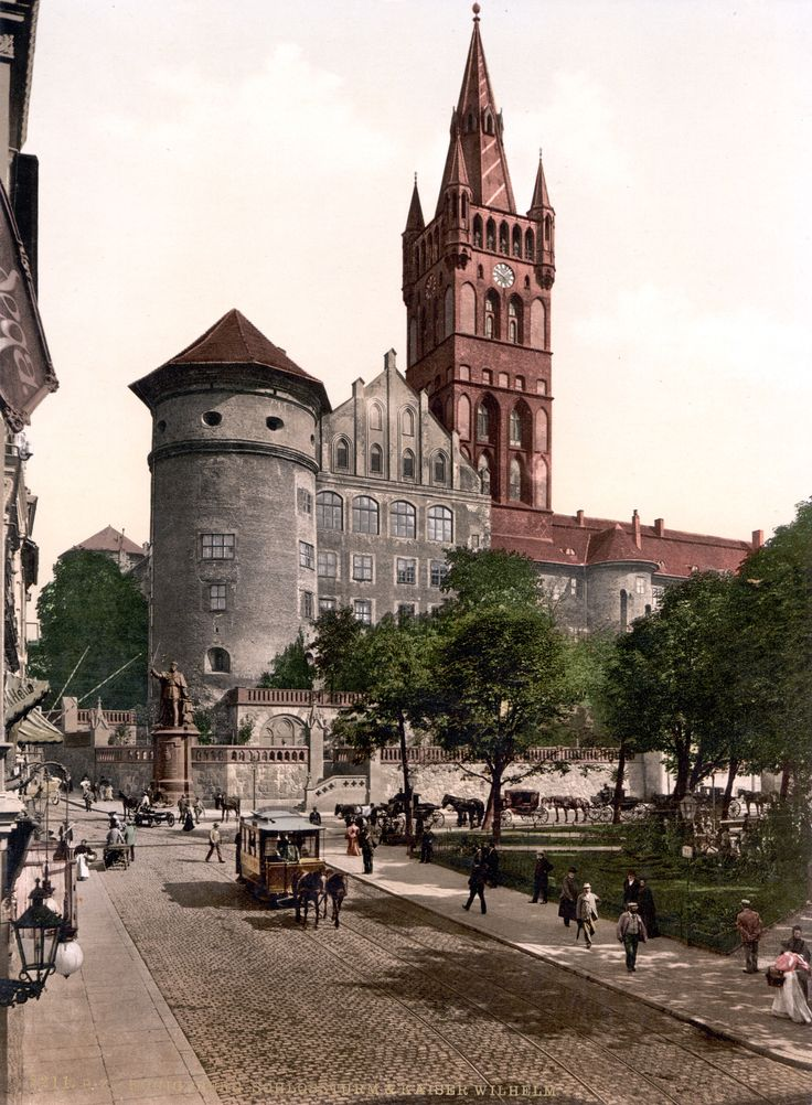 Königsberg Pr. Schloß vor 1914