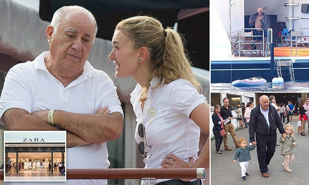 Spanish founder of Zara become the world's richest man