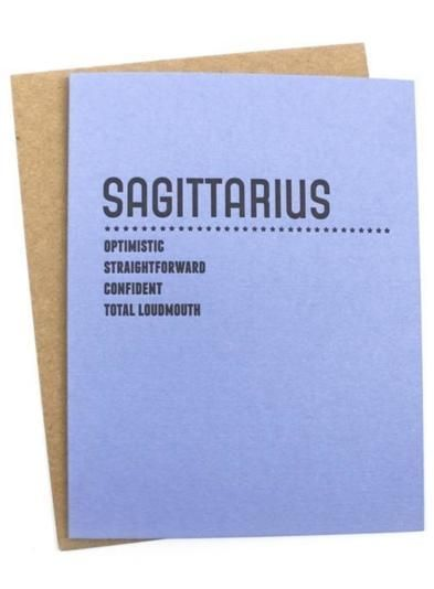 Hehe! These zodiac cards by Sapling Press are the perfect mix of bratty and fun.