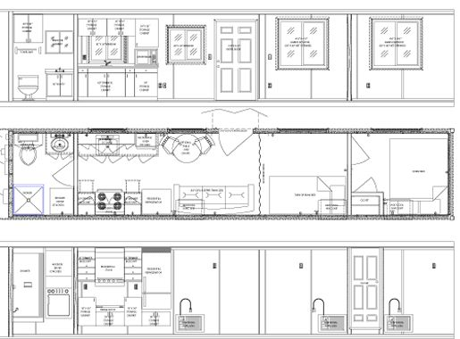 184 best images about Tiny House Floor Plans on Pinterest