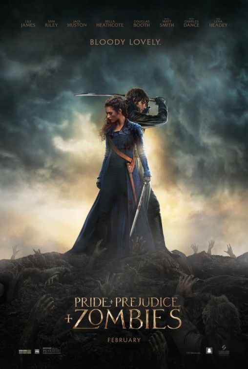 Pride and Prejudice and Zombies Movie Poster #3 - Internet Movie Poster Awards Gallery