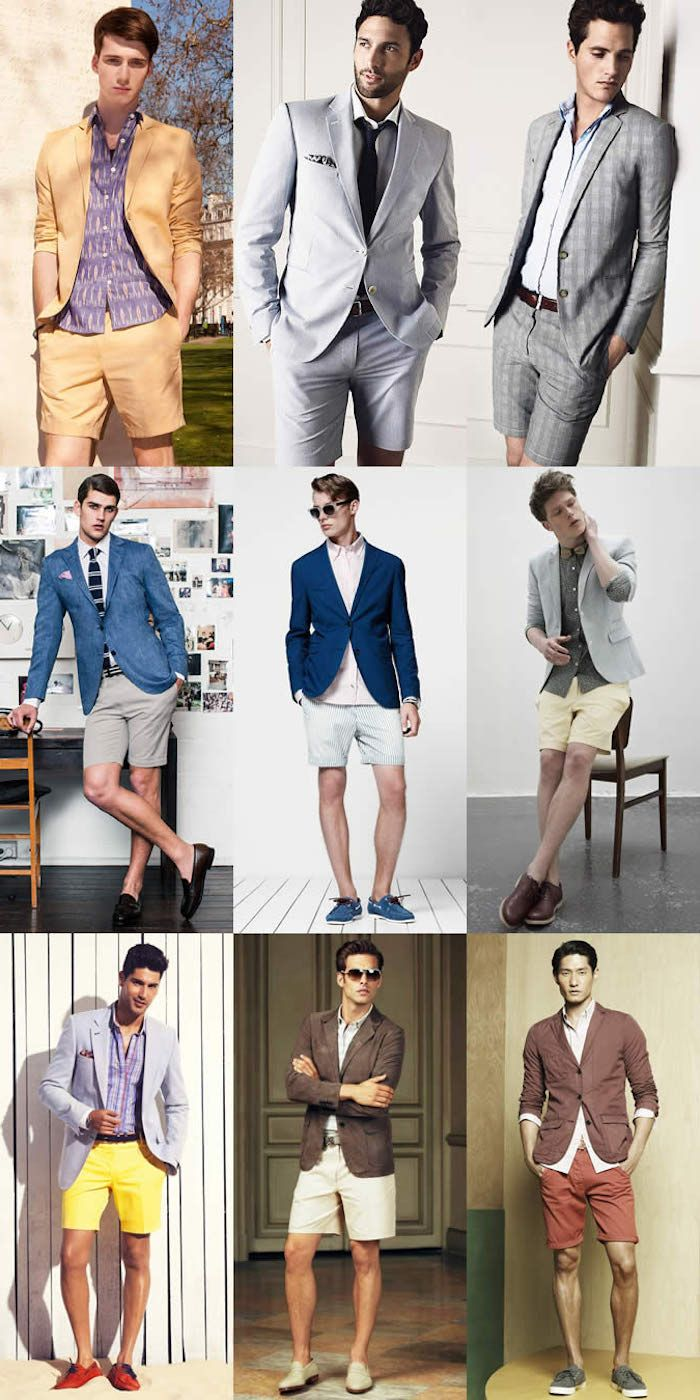 Dressy Casual Nine Photos Of Men In Casual Smart Clothing Blazers And Shirts Worn With Neckties And In 2020 Casual Summer Dresses Summer Fashion Outfits Classy Casual