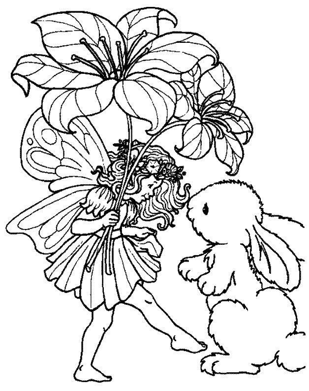 1000 images about printables fairies elves angels on pinterest coloring fairy sketch - Coloriage elfes ...