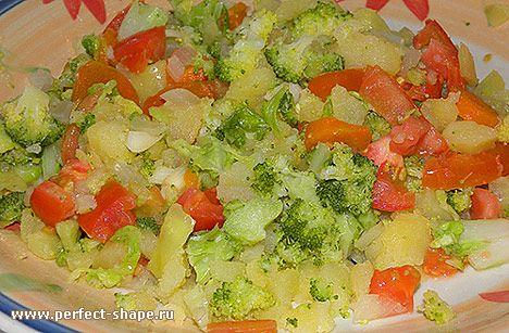 Рецепты овощных салатов с фотографиями