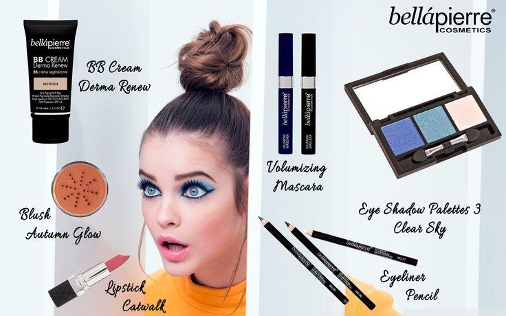 #trucco anni 60' in #stile #Twiggy; per voi la proposta #bellapierre per realizzare il tuo #makeup #naturale !  www.bellapierre.it
