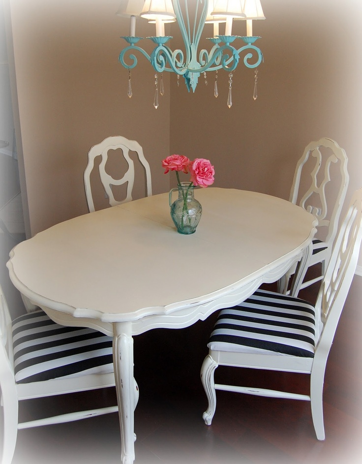 painted kitchen tableformal style made casual