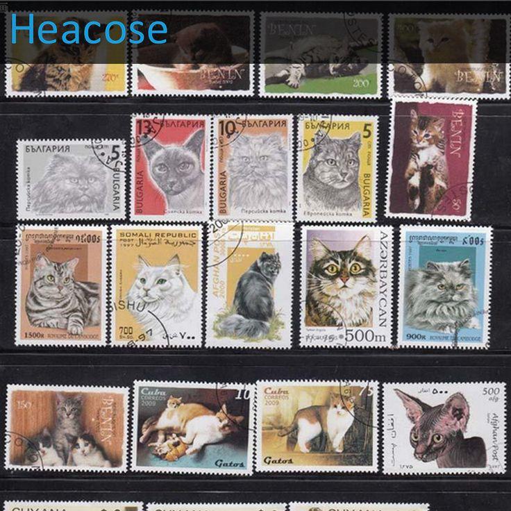 Moda kot Kotów zwierząt klasy 50 Sztuk/partia NIE powtórzyć, Znaczki pocztowe uesed Z Post Zaznacz Do Zbierania, Wszystkich Krajów w   te Znaczki są oryginalne i stosować po znaku, ta część jest ozwierząt kot, 50 sztuk nie powtórzyć  wszystkie są W Śred od Stamps na Aliexpress.com | Grupa Alibaba