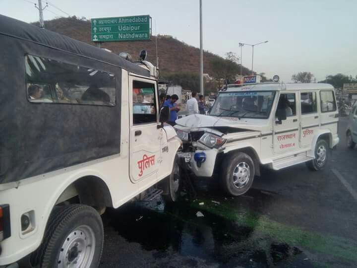 Accident police  to police