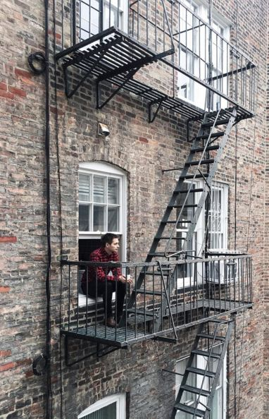 Coffee and fire escapes | The Trotter Girl, December 2015