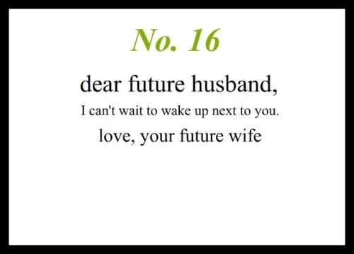 dear future husband quotes - photo #1