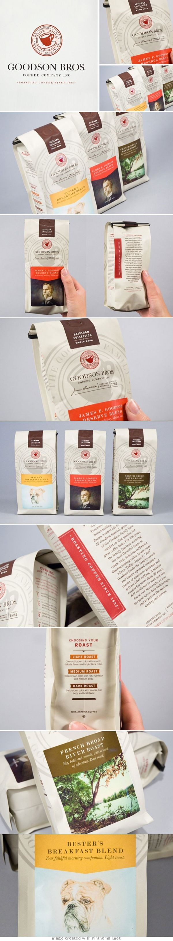 Goodson Bros. Coffee Company Inc. Let's all actually read our #coffee #packaging PD