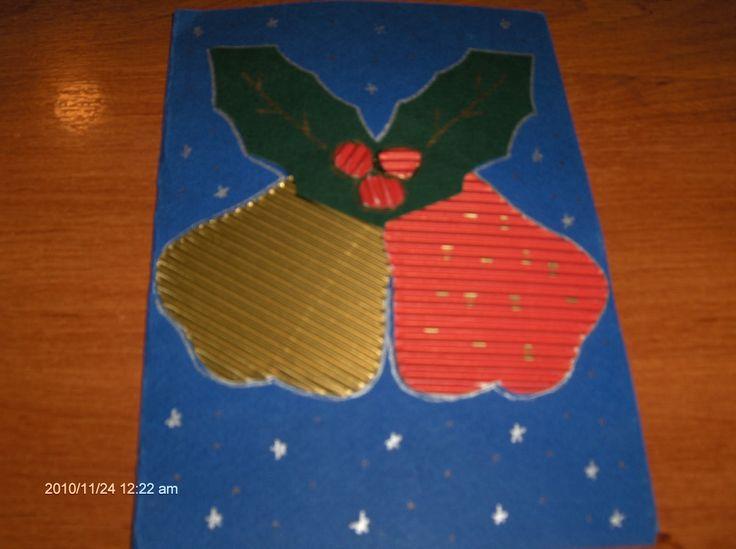 χριστουγεννιατικες καρτες κατασκευες - Αναζήτηση Google