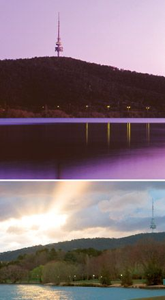 Telstra Tower: Visitors to Canberra and indeed local residents never tire of the breathtaking views of the nation's capital when they venture to the top of Telstra Tower.