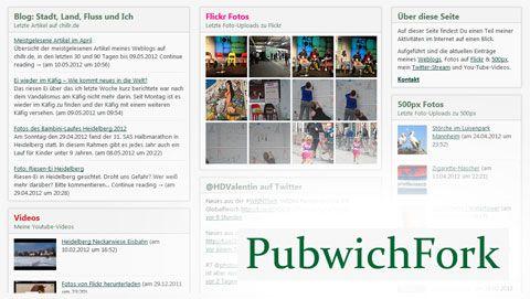 PubwichFork: сбор данных с разных источников в отдельный HTML