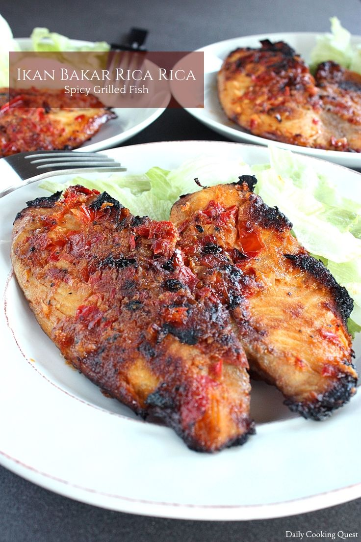 Ikan Bakar Rica-Rica - Spicy Grilled Fish