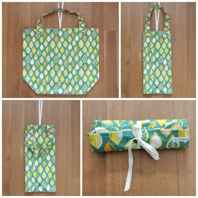 By MiekK: Shopper SewAlong - BoodschappenTas naaien