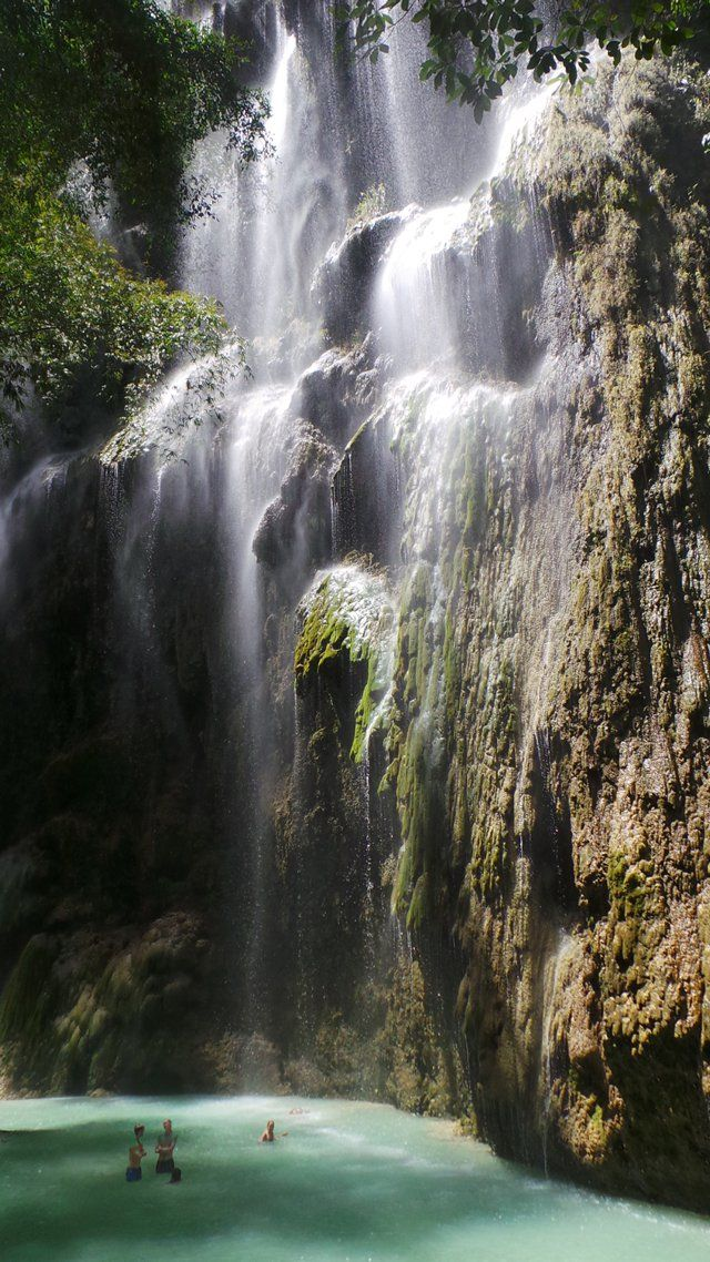 Tumalog Falls, Oslob, Cebu in the Philippines http://wanderlusting.me/lifeinthephilippines/local-places/tumalog-falls-oslob-cebu/