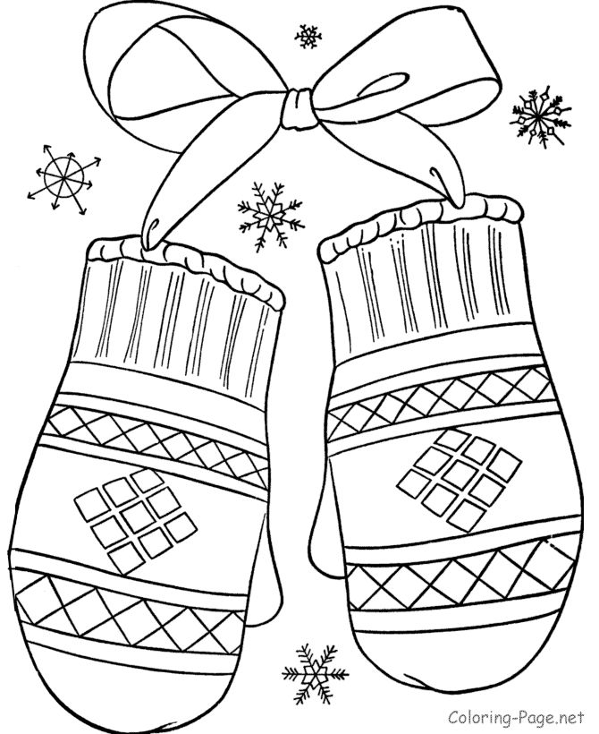 Winter Coloring Pages - Bing Images