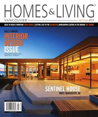 Homes & Living magazine Vancouver Apr/May 2013 teaser