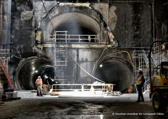 A Subterranean Expedition Shows Progress in NYC's Second Avenue Subway Tunnels... On our annual pilgrimage into the Second Avenue Subway, we once again descend into the 'Thunderdome' 200 feet under one of America's densest neighborhoods.