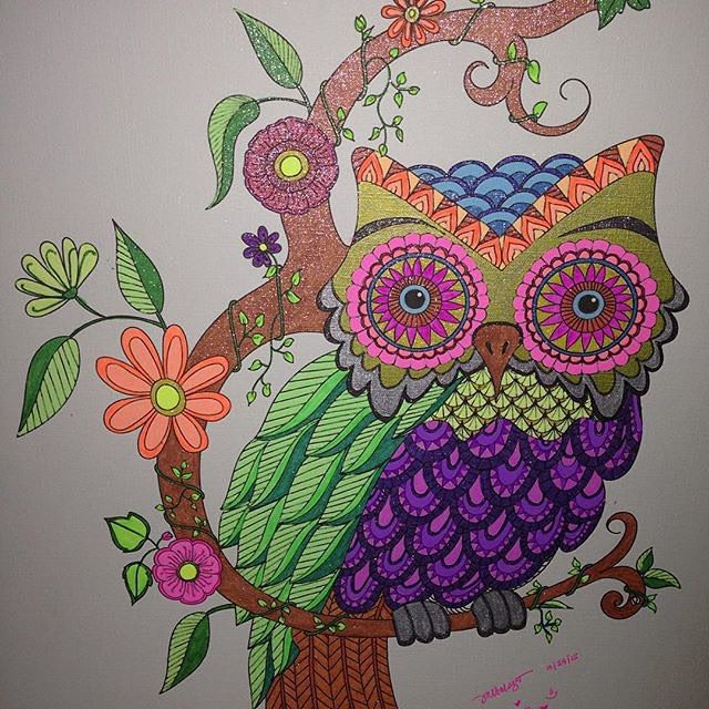 Free Coloring Page Here Used Gel Pens To Color This Sheet