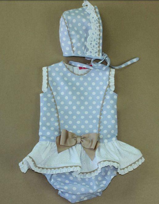 VR095-Jesusito lunares bebe niña Nini