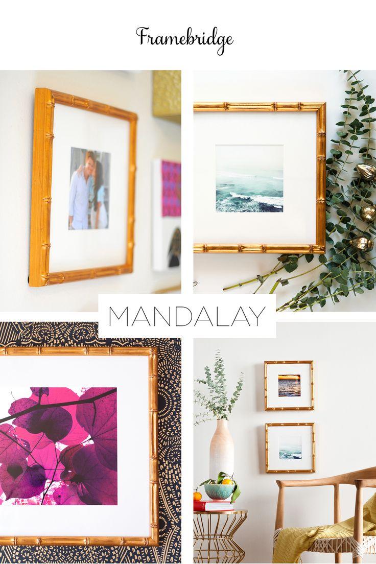 69 best Framebridge images on Pinterest | Custom picture frames ...