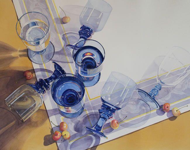Janice Sayles - 2014 Virginia Watercolor Society Exhibition