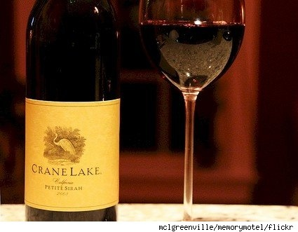 crane lake petite sirah is the greatest inexpensive wine