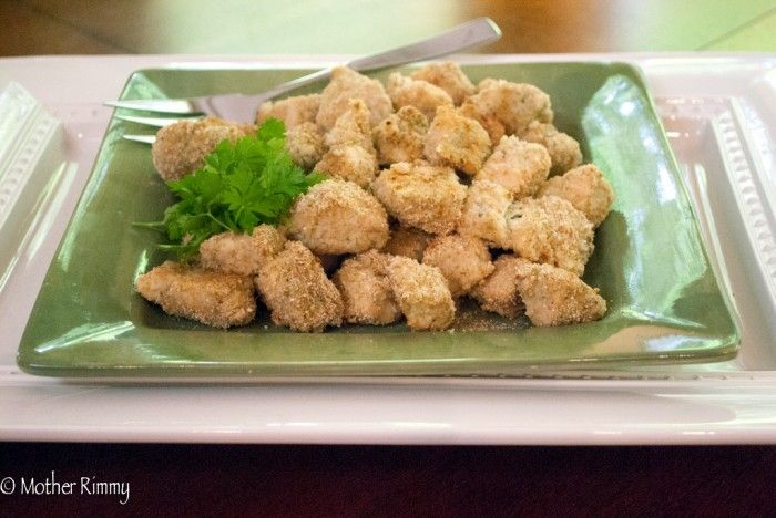Crunchy Chicken Tenders With Herb-Buttermilk Dressing Recipe ...