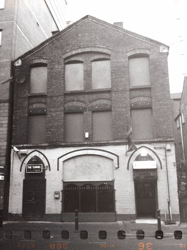 Northern Soul's Twisted Wheel, Whitworth St, Manchester - sadly no longer with us.