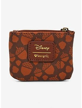 0217cb35324 Loungefly Disney Chip N Dale Acorn Coin Purse - BoxLunch Exclusive ...