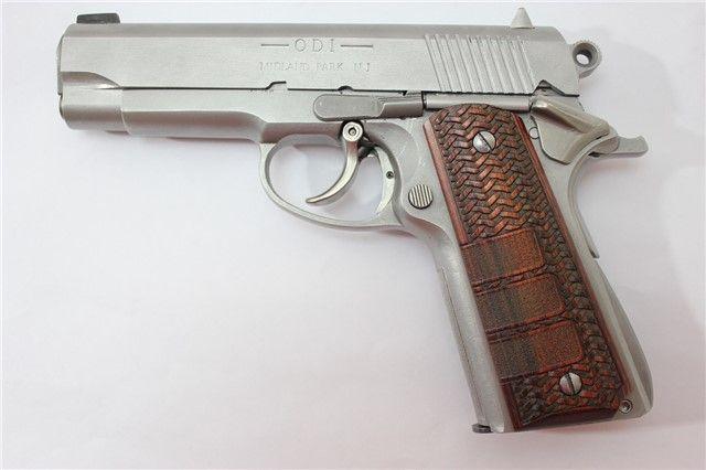 Odi Viking Combat 1911 Double Action 45 Semi Auto Pistols At