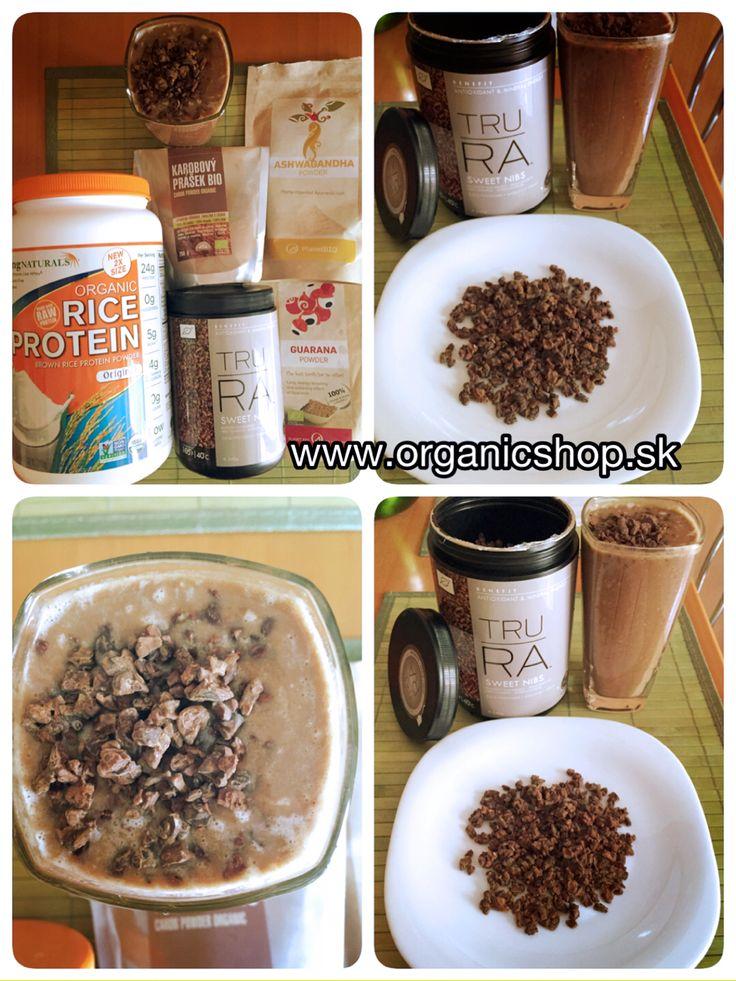 Raw protein smoothie choco