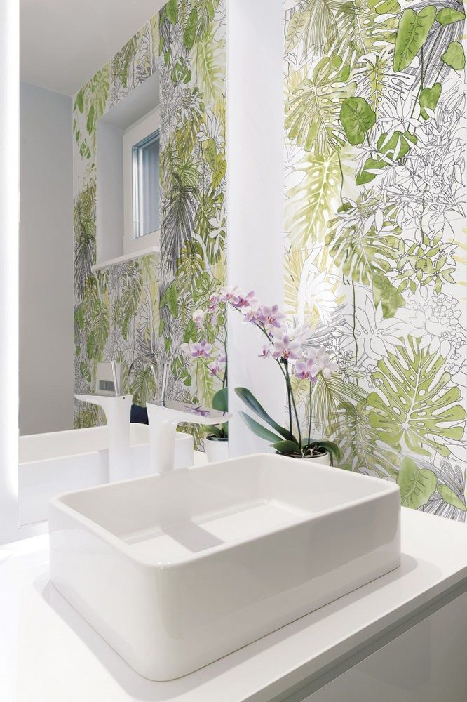 25 best ideas about glazed tiles on pinterest patterned for Carrelage jungle