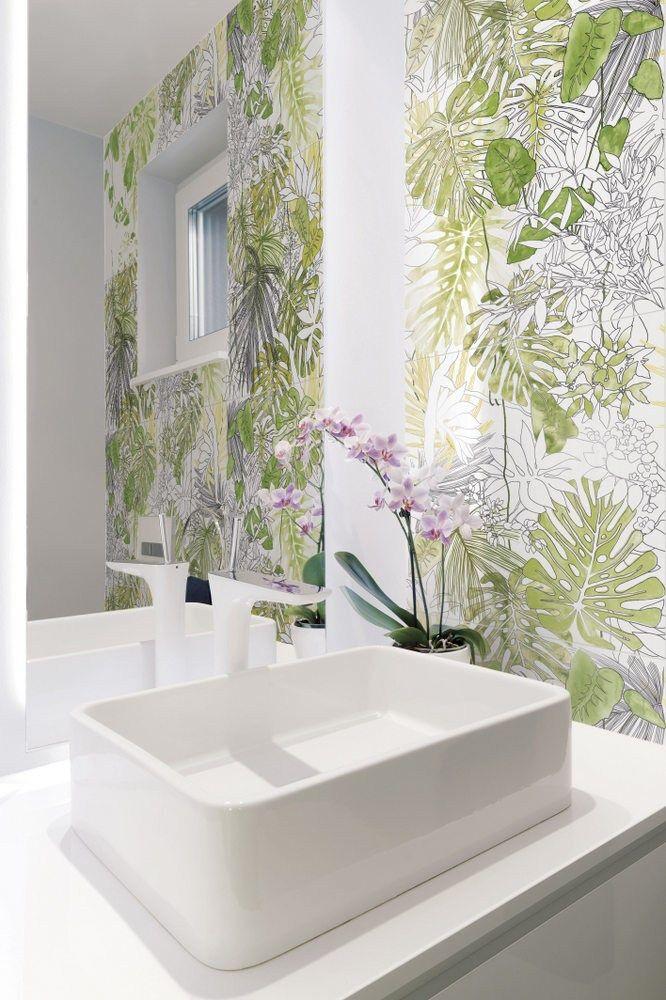 25 best ideas about glazed tiles on pinterest patterned for Carrelage jungle