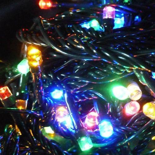 Elemes LED füzér 80
