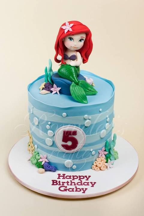 Mermaid cake by Rouvelee Creations