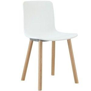 LexMod Sprung White Plastic Modern Dining Chair