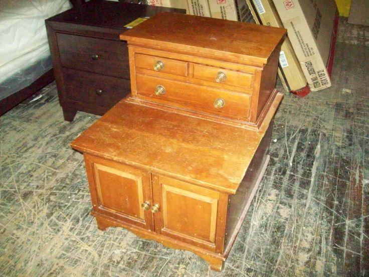National Furniture Co. cherry nightstand 18187