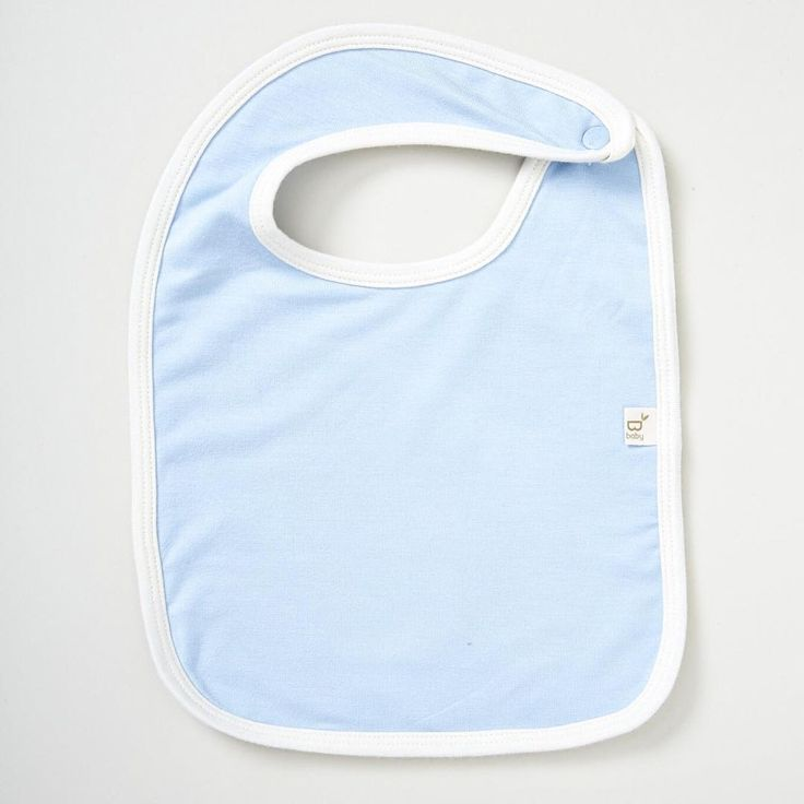 No frills here — just a soft, odor-resistant, sustainably-made bib that gets the job done! Because sometimes simple is best.