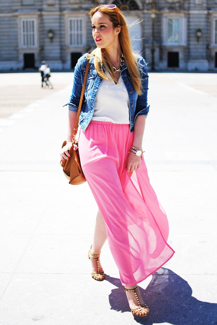 """""""Dream On"""" pink maxi..."""